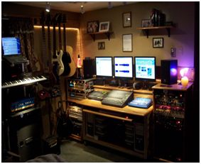 A Home Music-Studio